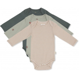 Konges Sløjd | 3 Pack Rompers Boy
