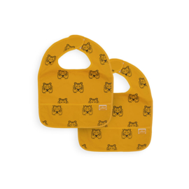 Jollein Slab waterproof Tiger mustard (2pack)