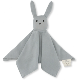 Konges Sløjd | Knuffeldoek Sleepy Rabbit French Blue