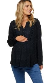 Bae I Maternity Something Special Frill Shirt Pinspot