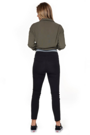 Bae I Maternitypants Only Forever Cropped - Black