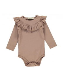 MarMar Romper Bibbi Rose Nut Lurex