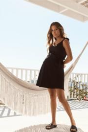 Legoe | Zwangerschapsrok Riviera Mini - Zwart (maat XS)