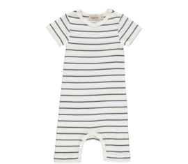 MarMar Bodysuit korte mouw Shaded Blue Stripe (maat 56)