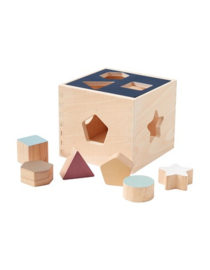 Kidsconcept Playbox with shapes Aiden