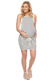 Bae I Maternitydress  Just Because Pinafore - Stripes