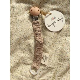 Konges Sløjd | Speenkoord Knit Cotton Brown Melange