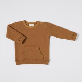 Nixnut Kangaroo Sweater Rust size 68