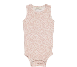 MarMar onesie sleeveless Leo Dusty rose