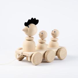 "Sarah & Bendrix Trekspeelgoed Hout ""Fred"""