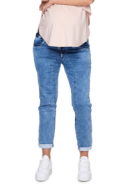 Bae I Zwangerschapsbroek Walk This Way Jogger - Denim