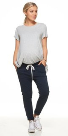 Bae I Zwangerschapsbroek Jogger Remember When - Navy
