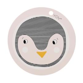 Placemat penguin pink