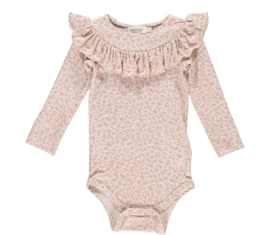 MarMar onesie Bibbi Leo Dusty rose