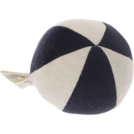 Konges Sløjd | Petit Toy Ball Striped Navy/Nature