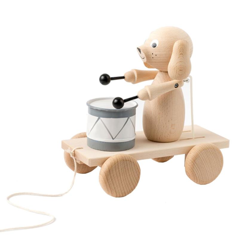 "Sarah & Bendrix Trekspeelgoed Hout ""Arthur"""