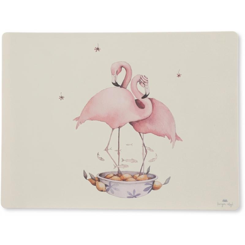 Konges Sløjd | Placemat Siliconen Flamingo