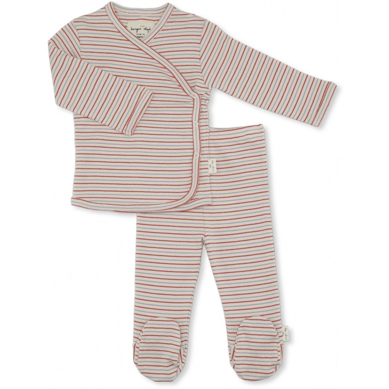 Konges Sløjd    Dio Two Piece Set Tricolore Stribes