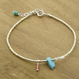 Ocean treasure // Turquoise Silver
