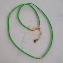 Minimalist necklace // Choose your color