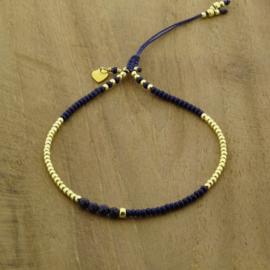 Basic Navy Blue // Gold