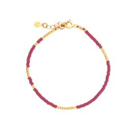 Ava bracelet // Grape Gold