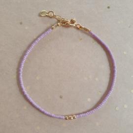 Minimalist // Lilac Gold