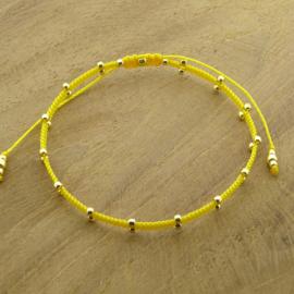 2 Dots  // Yellow Gold
