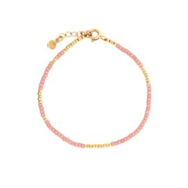 Ava bracelet // Soft pink Gold