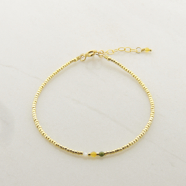 Tiny Gems // Green gold