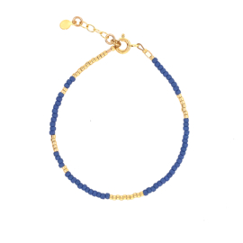 Ava bracelet // Blue Gold