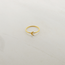 Luna ring // Gold Plated