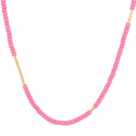 Basic  Necklace // Pink Gold