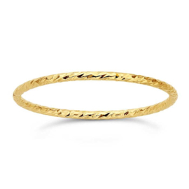 Sparkle ring // Goldfilled