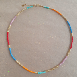 Bright mix Necklace // Gold