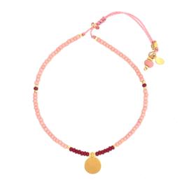 Bella bracelet // Soft Pink Gold