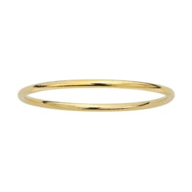 Plain gold ring // Goldfilled