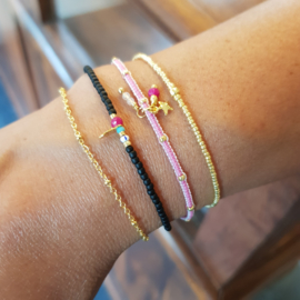 Nova // Pink Gold armband
