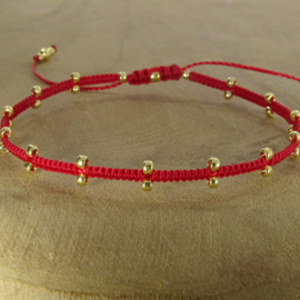 2 Dots  Red // Gold