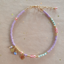 Kaia Bracelet // Lilac