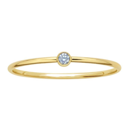 Blue stone ring // Goldfilled