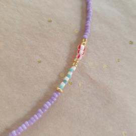 Kaia Necklace // Lilac