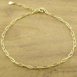 Enkelbandje Chain // Goldfilled