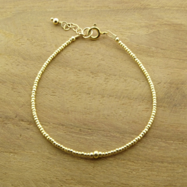 Armband Plain // Gold
