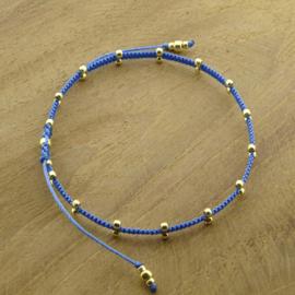 2 Dots  // Blue Gold
