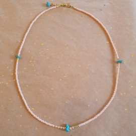 Take me to the beach Necklace // Gold