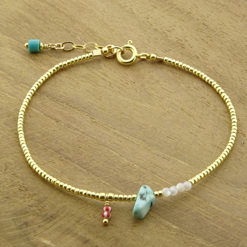 Ocean treasure // Turquoise Gold