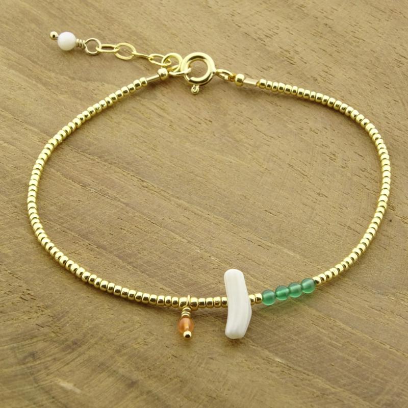 Ocean treasure // Bamboo Gold
