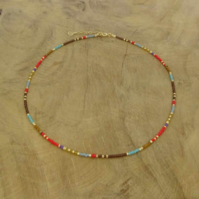 Beaded necklace // Aurelia