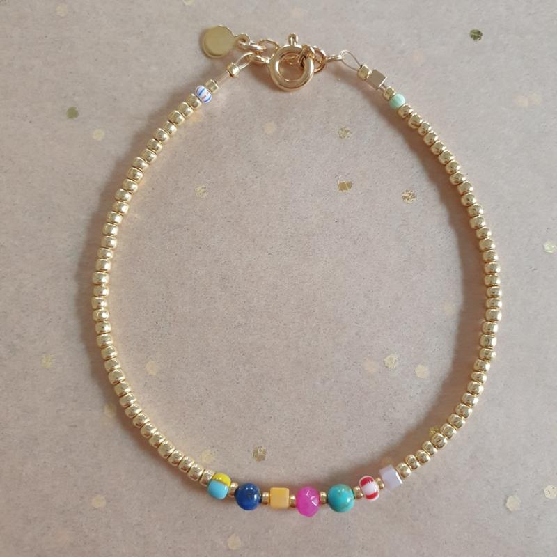 Charly bracelet // Gold